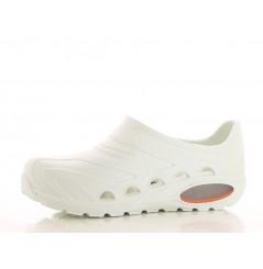 Sabot travail ferme bloc operatoire Oxyva Oxypas Chaussures-pro.fr blanc vue 1
