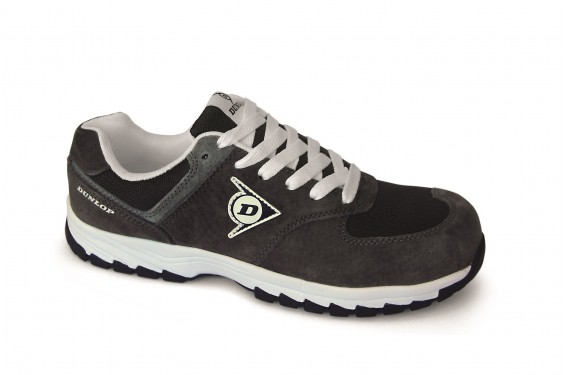 Basket securite legere Dunlop flying arrow S3 charcoal Chaussures-pro.fr