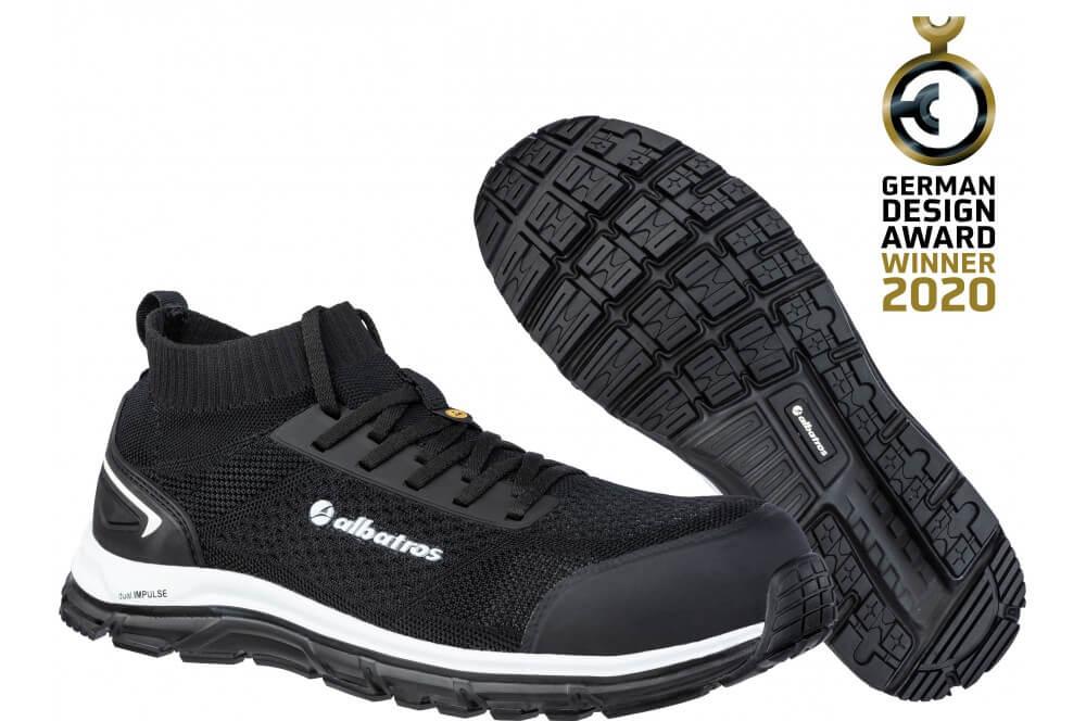 Basket de sécurité confortable ultimate impulse black S1P Albatros