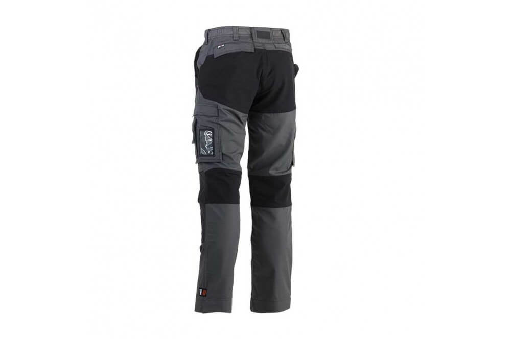Pantalon de travail tissu extensible Hector gris Herock