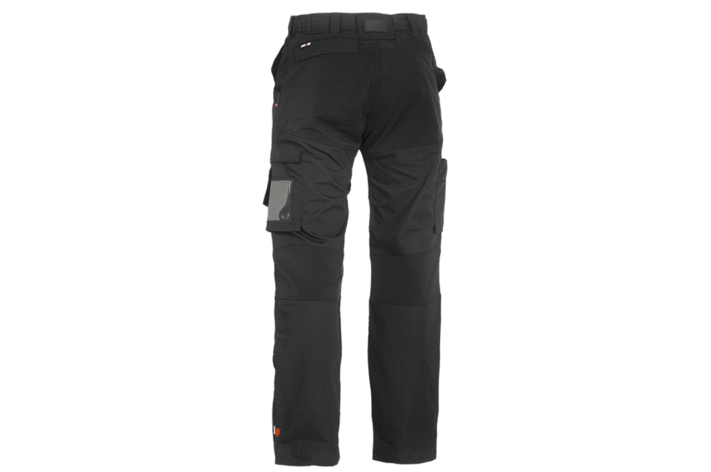 Pantalon de travail tissu extensible Hector noir Herock