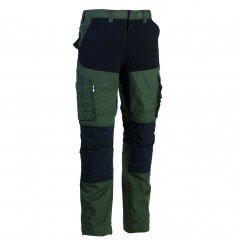 Pantalon de travail tissu extensible Hector kaki Herock