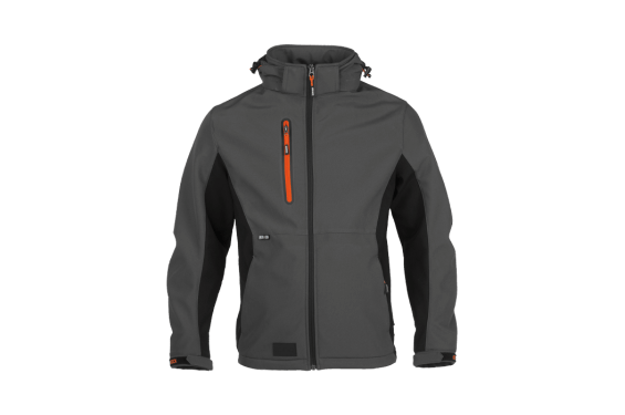 Veste travail softshell impermeable Trystan Herock Chaussures-pro.fr