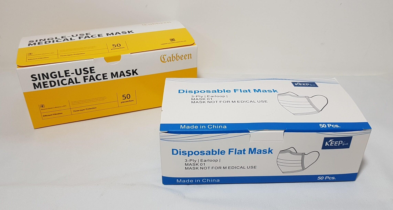 Boite de 50 masques...