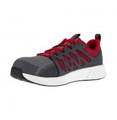 Basket securite legere S1P SRC fusion gris rouge Reebok chaussures-pro vu 2