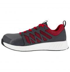 Basket securite legere S1P SRC fusion gris rouge Reebok chaussures-pro vue 3