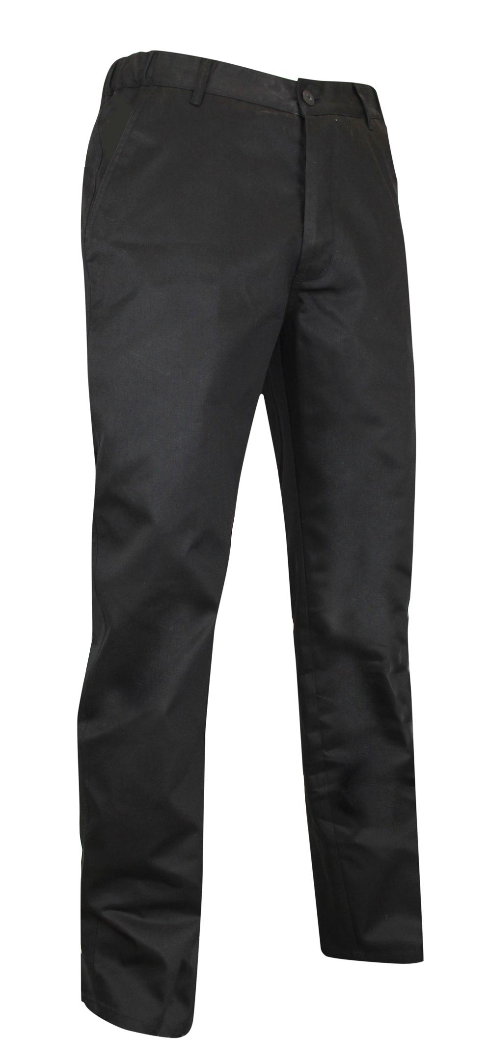 Pantalon de cuisinier noir...