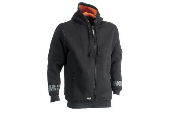 Gilet sweat travail a capuche Odyseus Herock Chaussures-pro.fr