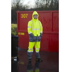 Veste pluie haute visibilite Bandit North Ways Chaussures-pro.fr situation