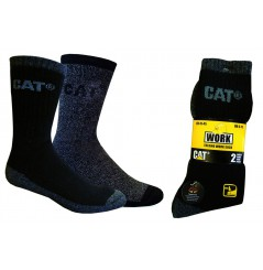 Chaussette de travail lot de 2 thermo Cat