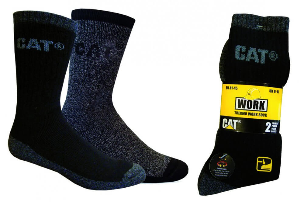 5626f61ad29 Chaussette de travail lot de 2 thermo Cat